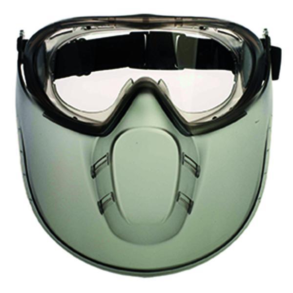 60655 STORMLUX  vegyszerálló védőszemüveg arcvédővel