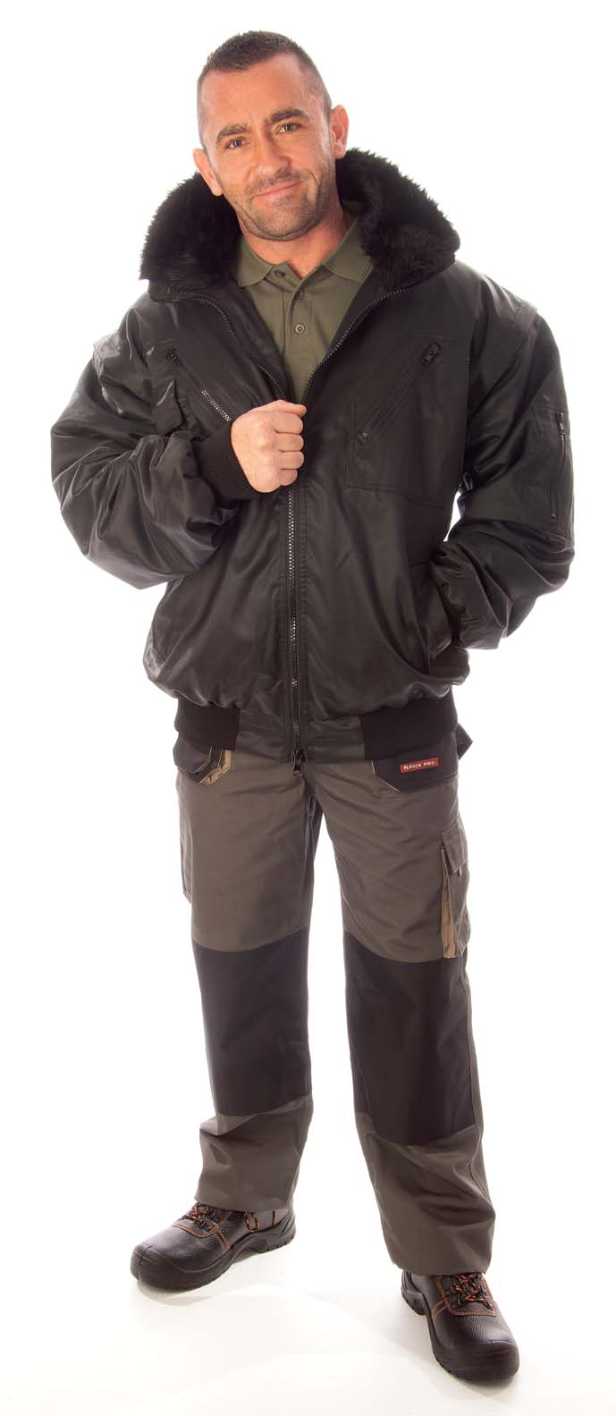 RPIFK pilóta dzseki fekete
