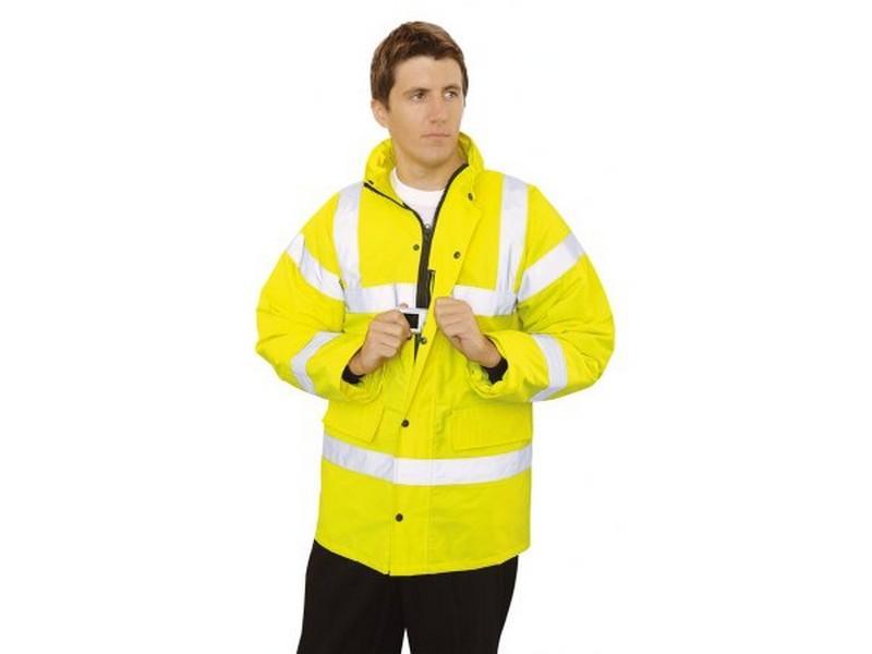 S460 jól láthatósági kabát sárga