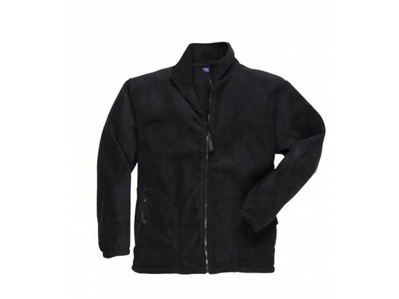F400 Argyll vastag polár pulóver, fekete