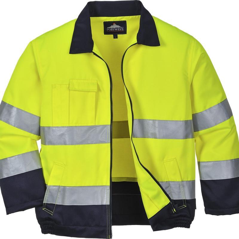 TX70 Texo Madrid kabát fluo sárga/kék