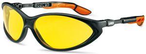 U9188.020 UVEX CYBRIC sárga szemüveg