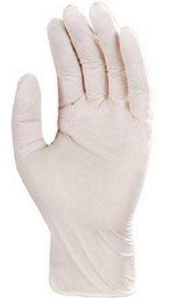 5942 Nitril fehér púder nélküli egyszer használatos kesztyű