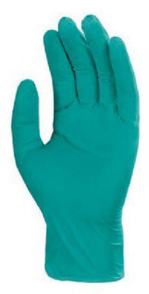 5956 Nitril zöld púder nélküli egyszer használatos kesztyű