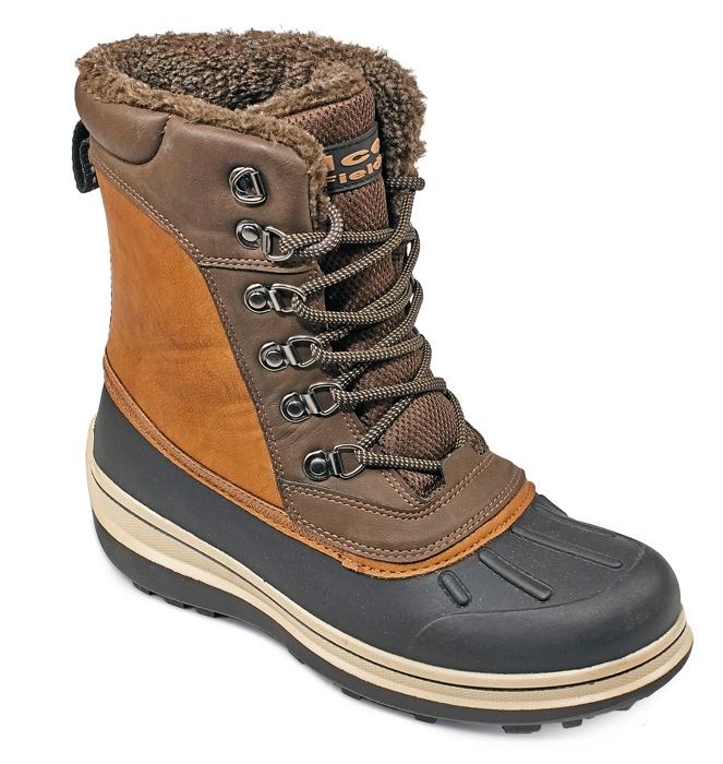MADRON magas téli csizma  barna/fekete