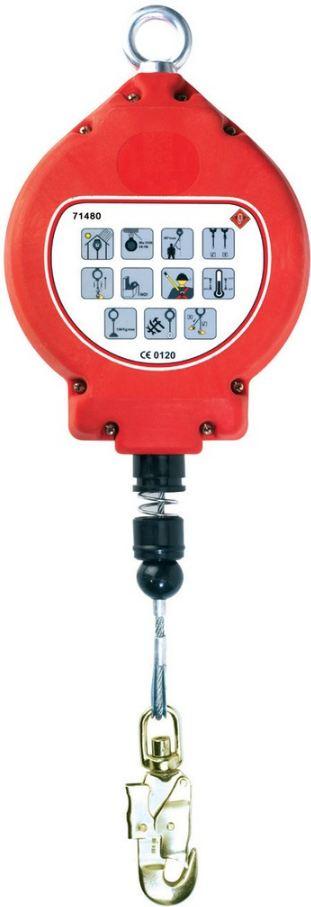 C71480  C10 visszahúzható zuhanásgátló