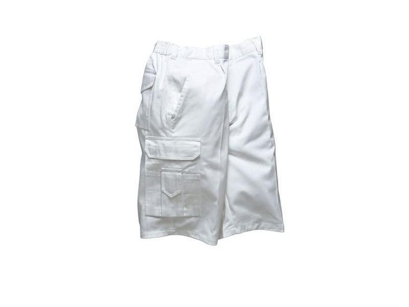 PW-S791  Festő rövidnadrág - fehér