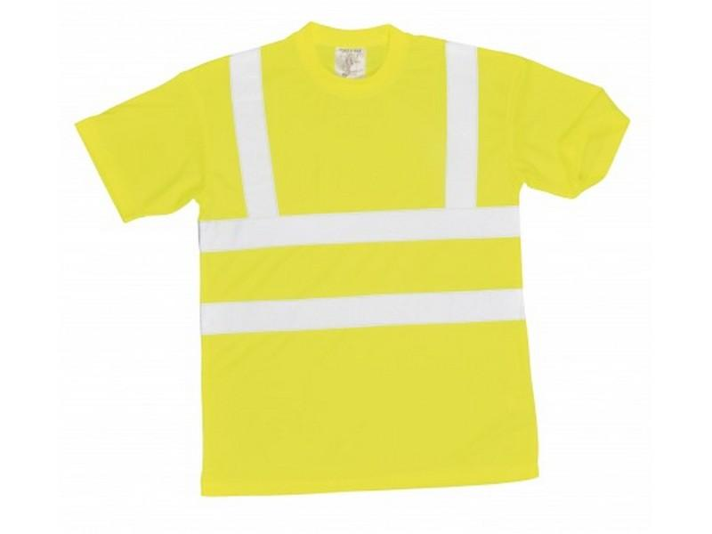 S478 Jól láthatósági póló sárga