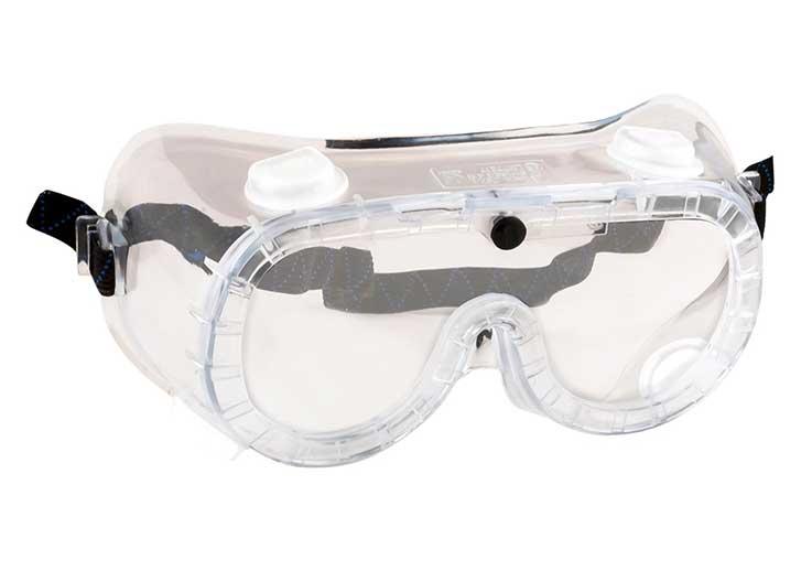 PW21 indirekt ventilációs védőszemüveg víztiszta