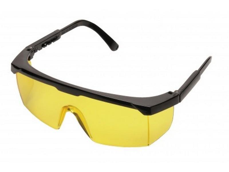 PW33 Klasszikus védőszemüveg sárga