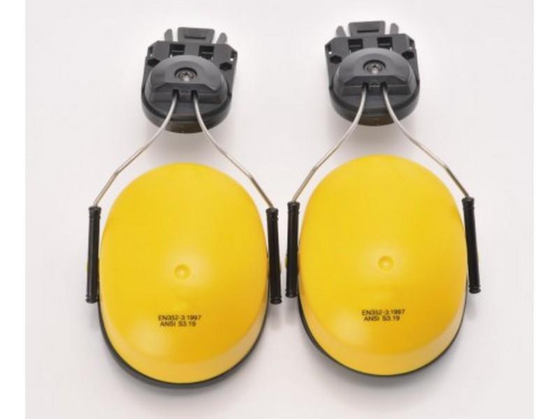 PW42 sisakra szerelhető fültok, sárga