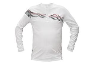 SANDOWN hosszú ujjú trikó fehér