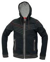 WINTON csuklyás pulóver fekete c9974e3d2a