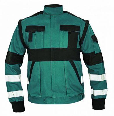 MAX WINTER RFLX téli dzseki zöld/fekete