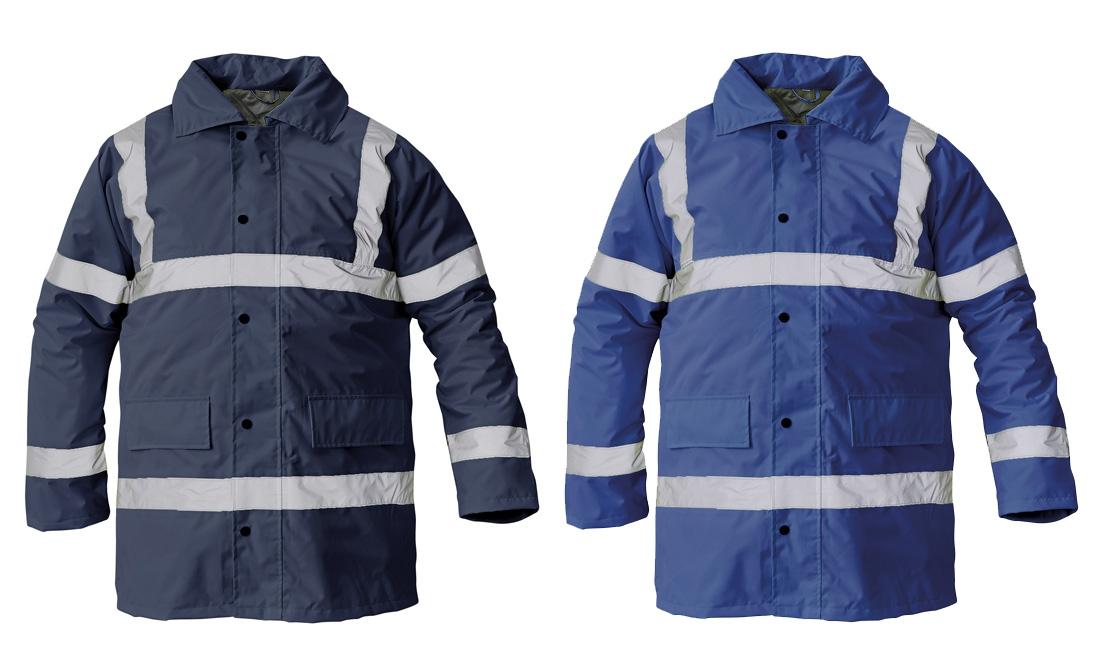 SEFTON bélelt fluo kabát royal kék