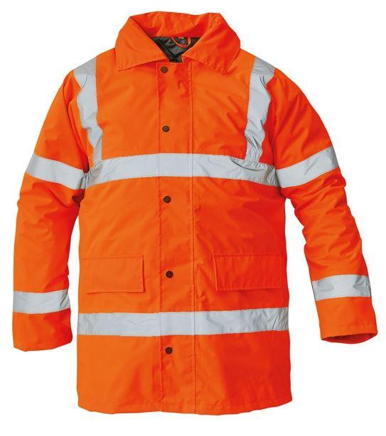 SEFTON bélelt fluo kabát narancs
