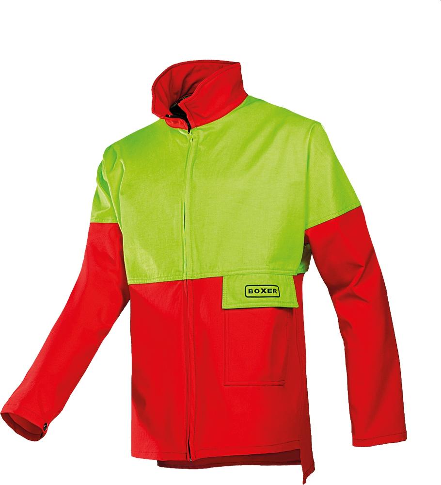 SIOEN SIP 1XSK láncfűrészes kabát piros/sárga
