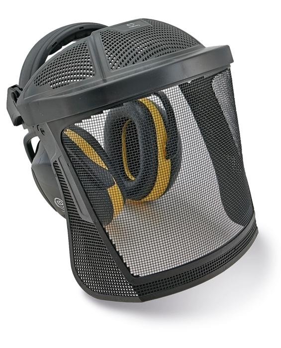 ED 2H hálós arcvédő fültokkal