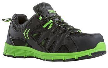 MOVE S3 alumínium lábujjvédős cipő zöld