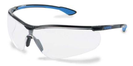 U9193838 UVEX SPORTSTYLE víztiszta szemüveg