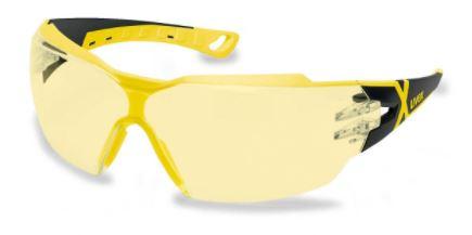 U9198285 UVEX PHEOS CX2 sárga szemüveg