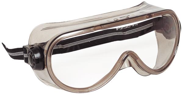 60620 SHELLUX víztiszta, páramentes, vegyszerálló szemüveg