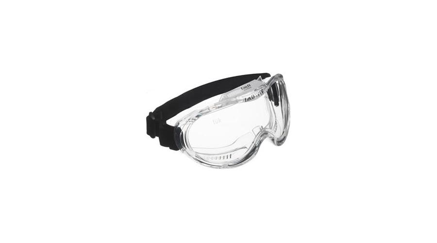 60601 KEMILUX víztiszta, vegyszerálló, páramentes szemüveg