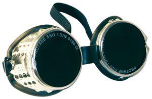 60811 ALULUX kerek lencsés IR5 hegesztő szemüveg