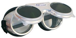 60810 REVALUX felhajthatós kerek IR5 hegesztő szemüveg